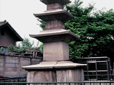 안동 옥동 삼층석탑